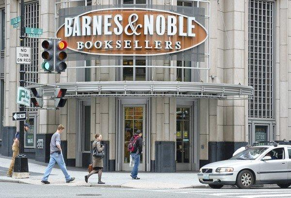 Hackers planted bugs in a single card reader at 63 Barnes & Noble stores, the company said. Customers swipe their payment cards through the machines and, if using a debit card, enter their personal identification number. Those so-called PINs may be at risk, along with other account information, potentially giving thieves access to customers' private accounts. Above, a Barnes & Noble in Washington, D.C.