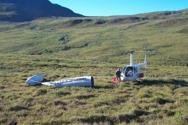 The National Park Service says it has completed a five-year-long project to recover heavy debris, including fuel pods dropped by military fighter jets in the 1970s, from areas it oversees in Northwest Alaska. The fuel pods were flown to ranger stations and villages by helicopters with Fairbanks-based Quicksilver Air, then taken to Anchorage using donated cargo space on Bering Air and Lynden Air Cargo flights.