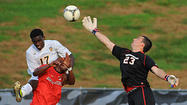Towson men's soccer team ties Northeastern in possible final home game