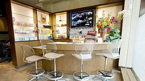 "<b>POLISHED:</b> OPI's Studio City salon has a ""nail bar"" for mini-manicures and offers manicures, pedicures, massage and facials."