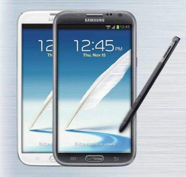 The Samsung Galaxy Note II is now officially on all four major U.S. networks.