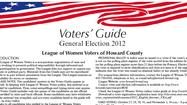 2012 Howard County voters guide [Download]