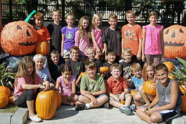 La Cañada Elementary School children gear up for the annual Halloween Haunt, which takes place at the school on Saturday, Oct. 27 and is organized by the PTA.