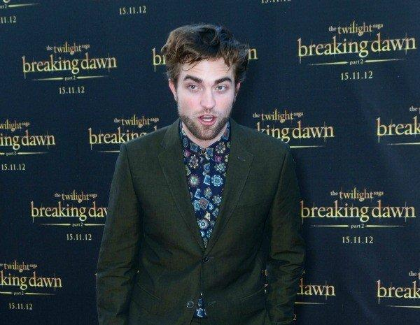 "Robert Pattinson is Down Under promoting ""The Twilight Saga: Breaking Dawn -- Part 2"" and talking about his intense love scenes with Kristen Stewart."