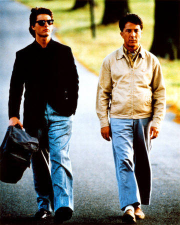 """Rain Man,"" with Tom Cruise as a flashy ladies' man and Dustin Hoffman as the autistic older brother he's forced to care for, won Levinson his Best Director Oscar. It also earned Oscars for Hoffman's performance and as the year's Best Picture."