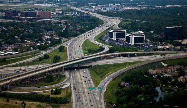 The Illinois Tollway will start working on the rebuilding and widening of the Jane Addams Memorial Tollway and the new Elgin-O'Hare bypass project in 2013.