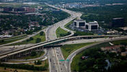 The Illinois Tollway will spend $771 million next year starting work on the rebuilding and widening of the Jane Addams Memorial Tollway and the new Elgin-O'Hare bypass project, according to a tentative 2013 budget the agency unveiled today.