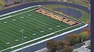 Dunbar will play on their new football field, provided by Under Armour, for the first time in the Poets' homecoming game Friday night against Carver.