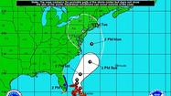 Hurricane Sandy is projected to move east of Miami on Friday morning.