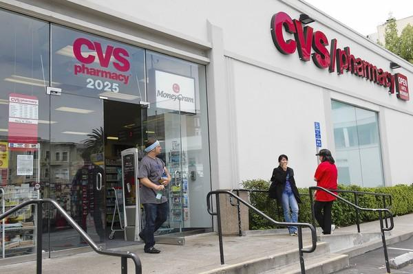 CVS pharmacists have complained of pressure to refill prescriptions without customer approval. Above, a CVS Caremark store in San Francisco.