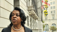Baltimore is wasting about $400,000 every month it does not install a new phone system, a lawyer for Comptroller Joan M. Pratt argued in court Thursday. But the mayor's lawyers argued that Pratt has no legal right to sue the city because she is a city officer.