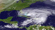 Forecasts show Hurricane Sandy could strike Md.