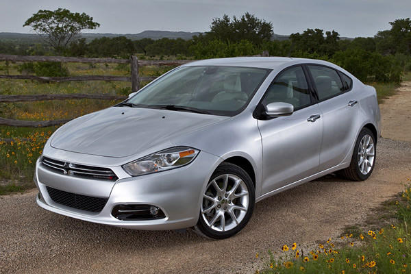 The Dodge Dart Aero was one of two non-hybrid models chosen as a finalist for Green Car of the Year.