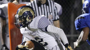 Lafayette hangs on for 25-20 win at York