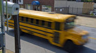 School officials in Baltimore and Baltimore County pledged Thursday to track, for the first time, automated camera citations that are issued to privately owned school buses hired to transport public-school children.