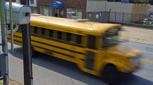 Officials pledge to monitor school bus speed camera tickets