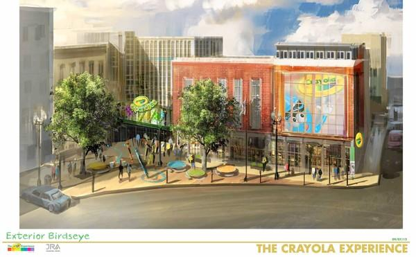 Easton's biggest tourist attraction will be known as the Crayola Experience after undergoing an expansion.