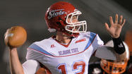 Arundel alum Nick Elko leads Delaware State to a primetime win over Morgan