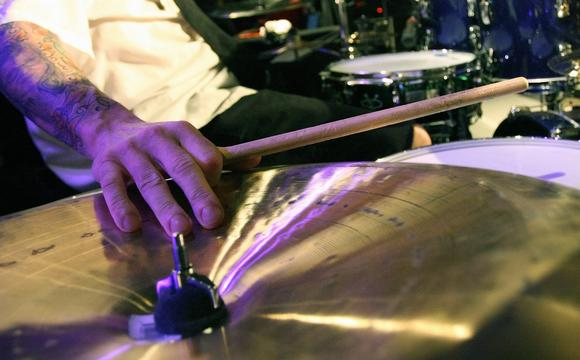 Playing the drums may not just be good for music but your health, too.