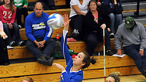 HIGH SCHOOL VOLLEYBALL: Central slams Pierre