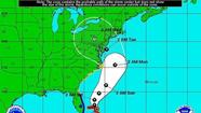 Hurricane Sandy dropped in strength to a Category 1 storm as it pounded the Bahamas with battering winds and rain on Friday, sweeping over the island chain after killing 21 people across the Caribbean and posing a menacing threat to the U.S. East Coast.