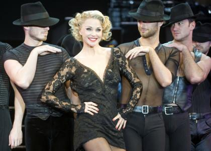 Christie Brinkley plays Roxie Hart in the national tour of 'Chicago' running at The Bushnell through Sunday.
