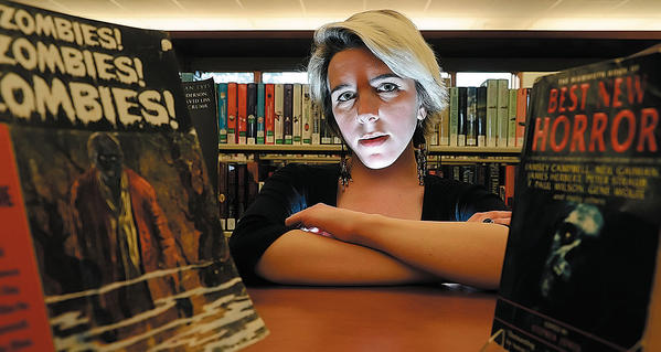 "Ashley Hutson of Sharpsburg is branch manager at Smithsburg Library. Her short story, ""Husk,"" is grand-prize winner of the Scary Story Contest."