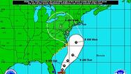 Hurricane Sandy is projected to hit the Northeast early next week.