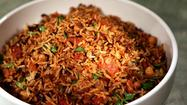 Recipe: <i>Müceddere</i> (rice pilaf with chickpeas, lentils and browned onions)