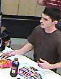 Martinsburg (W.Va.) police are looking for a man, pictured in this image from surveillance video, in connection with an incident Wednesday night at the Sheetz convenience store on West King Street in Martinsburg.