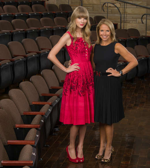 When Katie Couric needed the ultimate insider to take her behind the scenes in Nashville, who else could she turn to but Taylor Swift?