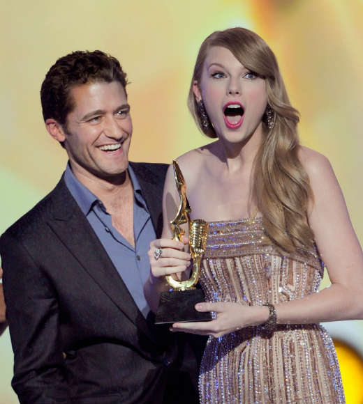 Why Taylor Swift rocks our world: No matter how many times she wins -- and lets face it, shes taken just about every award outside the Nobel Peace Prize -- shes always shocked, thrilled and adorably flustered, like here at the 2001 Billboard Music Awards.