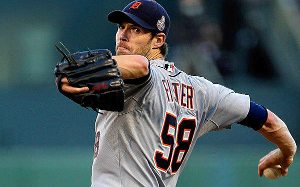 Detroit Tigers Doug Fister tries to keep his team close in Game 2 of the World Series on Oct. 25.