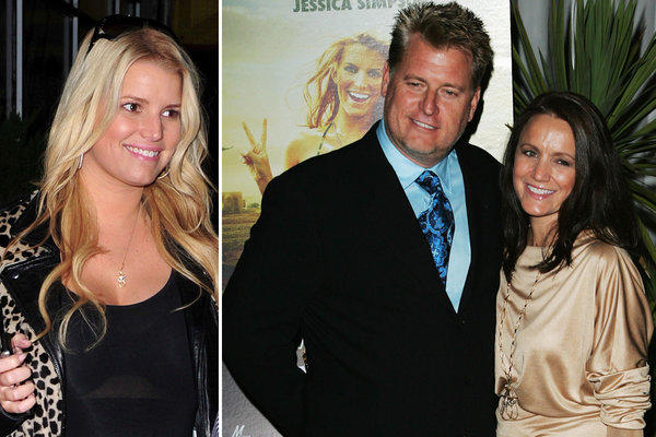 "Jessica Simpson's mom and dad are calling it quits: Joe and Tina Simpson have filed for divorce.  ""It is an amicable split, and there is no third party involved,"" the family rep told People. ""Any other related allegations are completely false. The family appreciates your respect for their privacy at this time.""  Those ""related allegations"" refer to a National Enquirer story in which a ""family insider"" claims Simpson's father is gay.  <br><br> <strong>Full story:</strong> <a target=""_blank"" href=""http://www.latimes.com/entertainment/gossip/la-et-mg-jessica-simpson-parents-divorce-20121024,0,6494732.story"">Jessica Simpson's parents Tina and Joe Simpson file for divorce</a> 