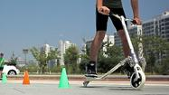 New kinds of wheels for fitness, fun