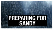 A hurricane as big as Sandy is reason enough for concern.  But an even bigger concern; how much debris from last summer's fierce wind storm might compound damage from Sandy?