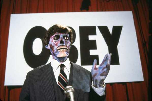 "A scene from ""They Live."""
