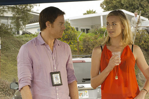'Dexter' Season 7: Best & worst: Dexter and Hannah share a killer flirtation.