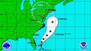 Hurricane Sandy weakens but still on track for damaging Delmarva strike