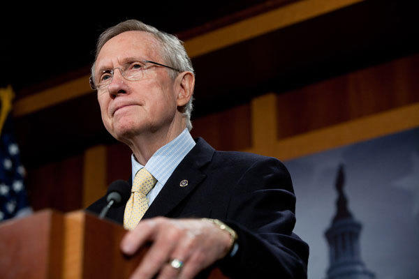 Senate Majority Leader Harry Reid (D-Nev.) was involved in what appeared to be a rear-end car accident in Las Vegas.