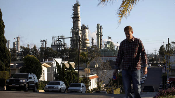 Refineries such as Chevron's facility in El Segundo produce a special gasoline blend for California.