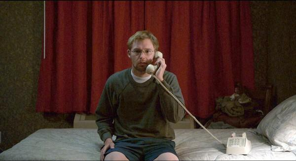 "In ""Easier With Practice,"" struggling young writer Davy (Brian Geraghty) is staying in a New Mexico motel room when he receives a random phone-sex call from a woman calling herself Nicole."
