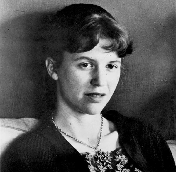 Sylvia Plath in an undated photograph