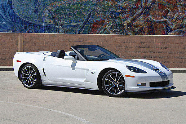 This Corvette 427 convertible has 505 horsepower, will do 0-60 in 3.8 seconds and sells for $91,320.