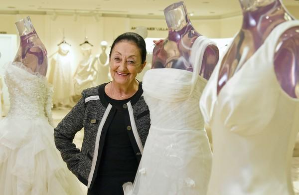 Bride whisperer matches wedding gowns, wearers at Saks Fifth Avenue ...