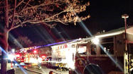 Edgewood townhouse fire