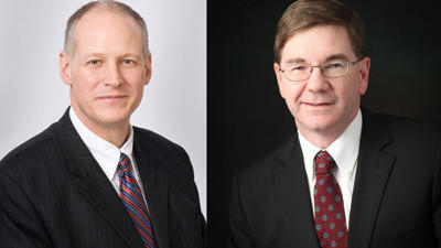 Democratic U.S. Rep. Mark Critz, D-Johnstown (left) and Republican challenger Keith Rothfus, Sewickley (right).