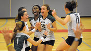 There was no mystery about Seton Keough's strategy entering the Interscholastic Athletic Association of Maryland A Conference volleyball championship at Roland Park on Friday night. It was another night of feed the monster.