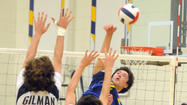 Loyola vs. Gilman volleyball [Pictures]