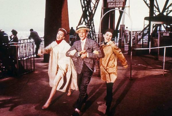 Thompson managed to steal this 1957 musical from under the noses of Fred Astaire and Audrey Hepburn, right, playing Maggie Prescott, the vivacious publisher of New York's Quality fashion.